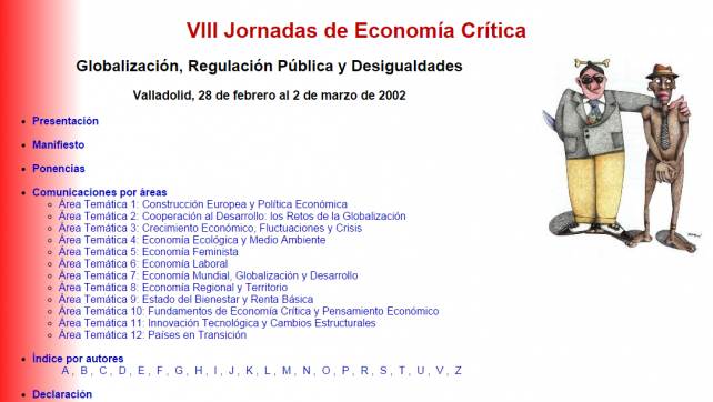 VIII Jornadas de Economía Crítica