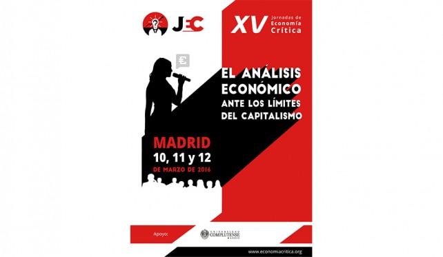 XV Jornadas de Economía Crítica