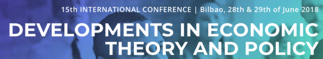 15th International Conference Developments in Economic Theory and Policy